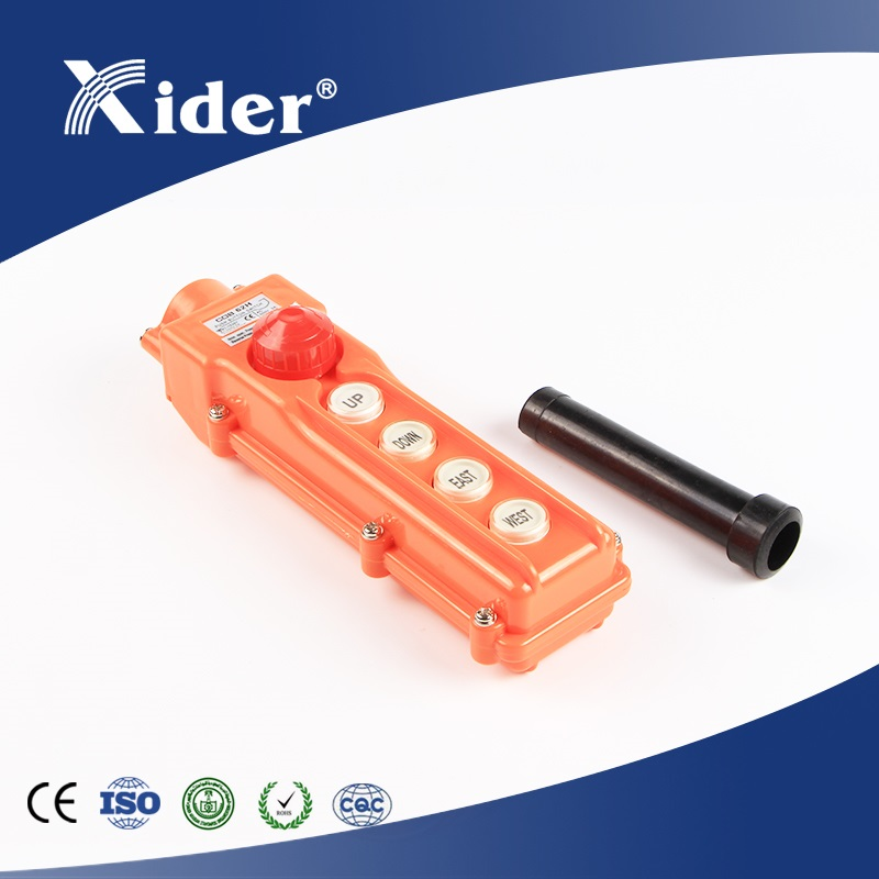 COB-62H Rain proof crane control push button switch