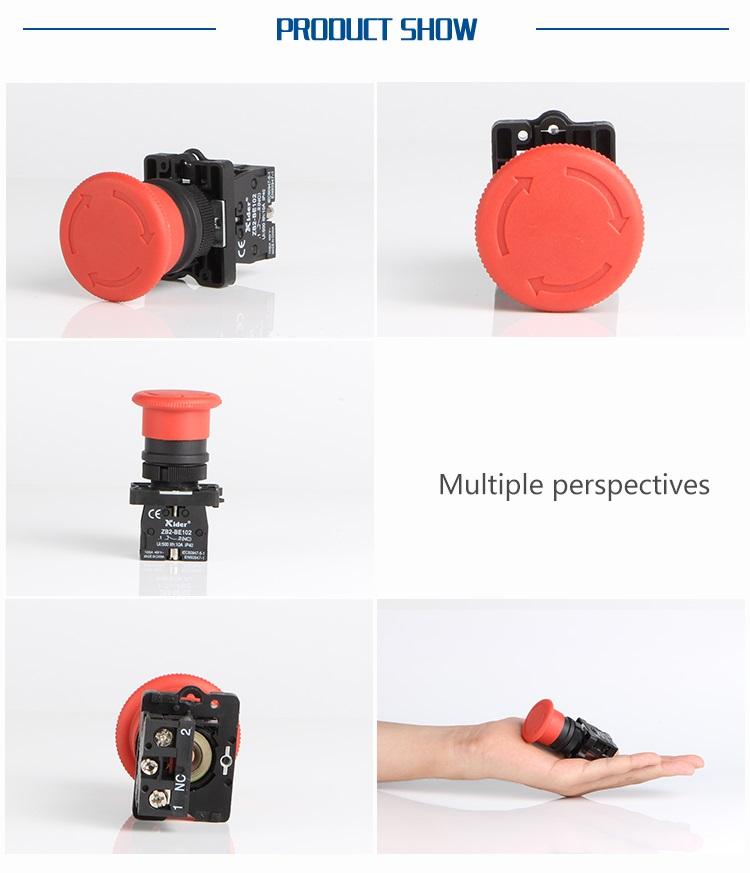 DB2-ES542 Mushroom Push Button Switch