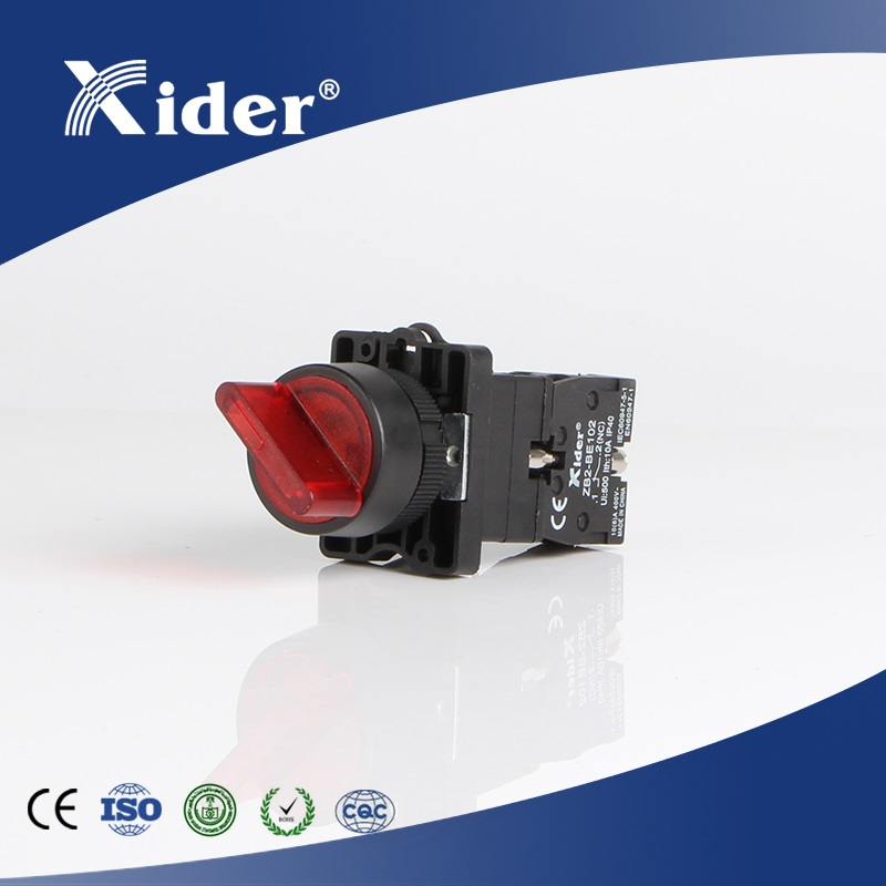 XB-EK2465 illuminated selector switch